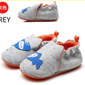 Cartoon Cotton Baby Girls Shoes Cute Newborn Baby Walking Shoes Child Kids Casual Canvas Cheap Wholesale China Factory