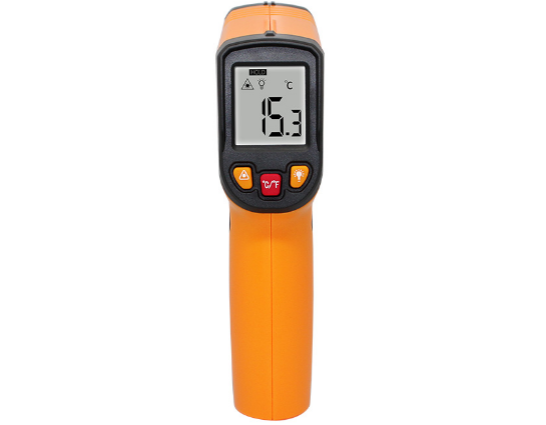 Factory Industrial <strong>Temperature</strong> Digital Infrared Thermometer Gun Thermal Measurement Industrial Forehead Contactless Liquid