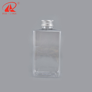 300ML Flat plastic bottle manufacturer juice drink beverage pet bottle