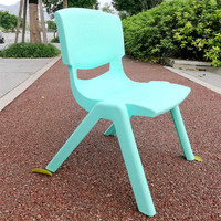 Wholesale stackable kids study table and chair bright color furniture kids party chairs kindergarten child plastic chair