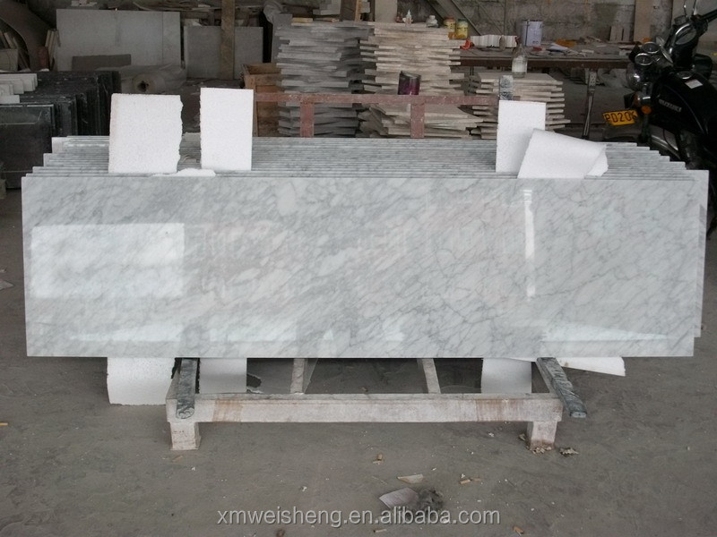 Winson natural bianco carrara venato marble vanity single double sink prices