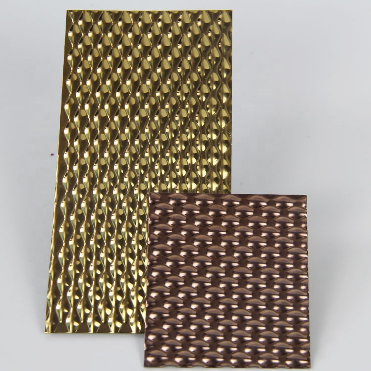SUS304 gold <strong>stainless</strong> steel wall panel designer <strong>stainless</strong> steel sheet brass stamped <strong>stainless</strong> steel sheet