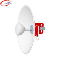 Lanbowan Outdoor 4G Lte 1710-2690MHz 5G 3300-3800MHz 3.5ghz 17dbi wifi antennas dish for cellular network