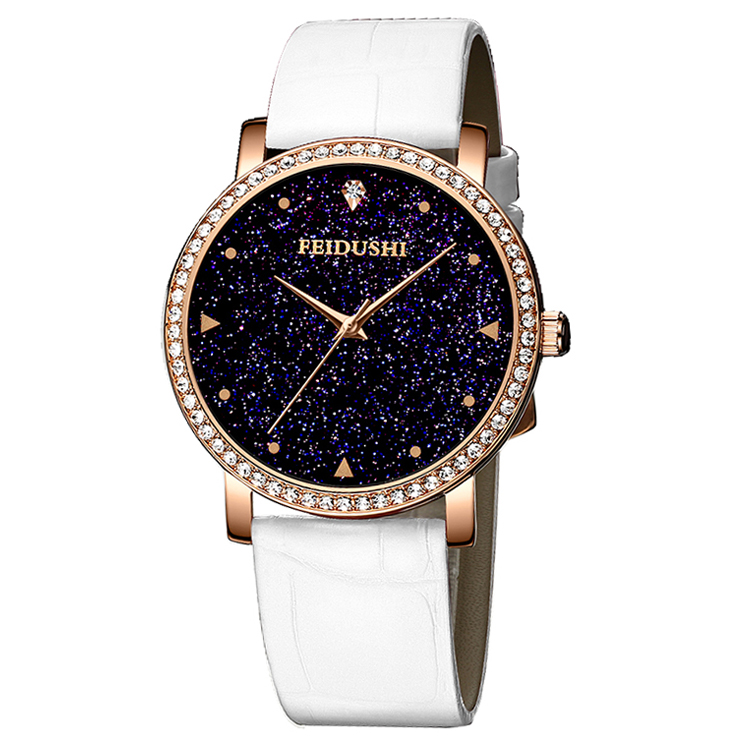 New trends star diamond fashion luxury waterproof ladies casual <strong>wrist</strong> <strong>watch</strong> <strong>for</strong> <strong>women</strong>