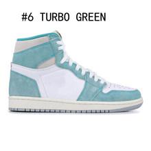 2020 X мужские баскетбольные кроссовки 1s TURBO GREEN twist Obsidians UNC бесстрашные Фантомы 1 Задняя панель для спортзала красные спортивные кроссовки для ...(Китай)