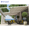 Sun Shade Electric Roof Metal Garden Canvas Canopy Pergola with Motor