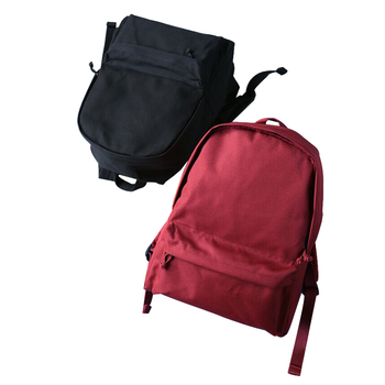 Wholesale simple fashion korean style back pack bag women girls canvas school backpack