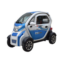 Fully Enclosed Mobility Scooter-Car 4 Wheel Lithium Battery Small 5 Seats Electric Car