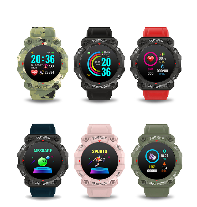 Watch for men 2021 1.3inch blood pressure FD68 smart watch for android and ios phones