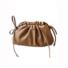 women's bag 2020 New Genuine Leather cloud bag hand holding straddle single shoulder soft skin dumpling armpit bag star same sty