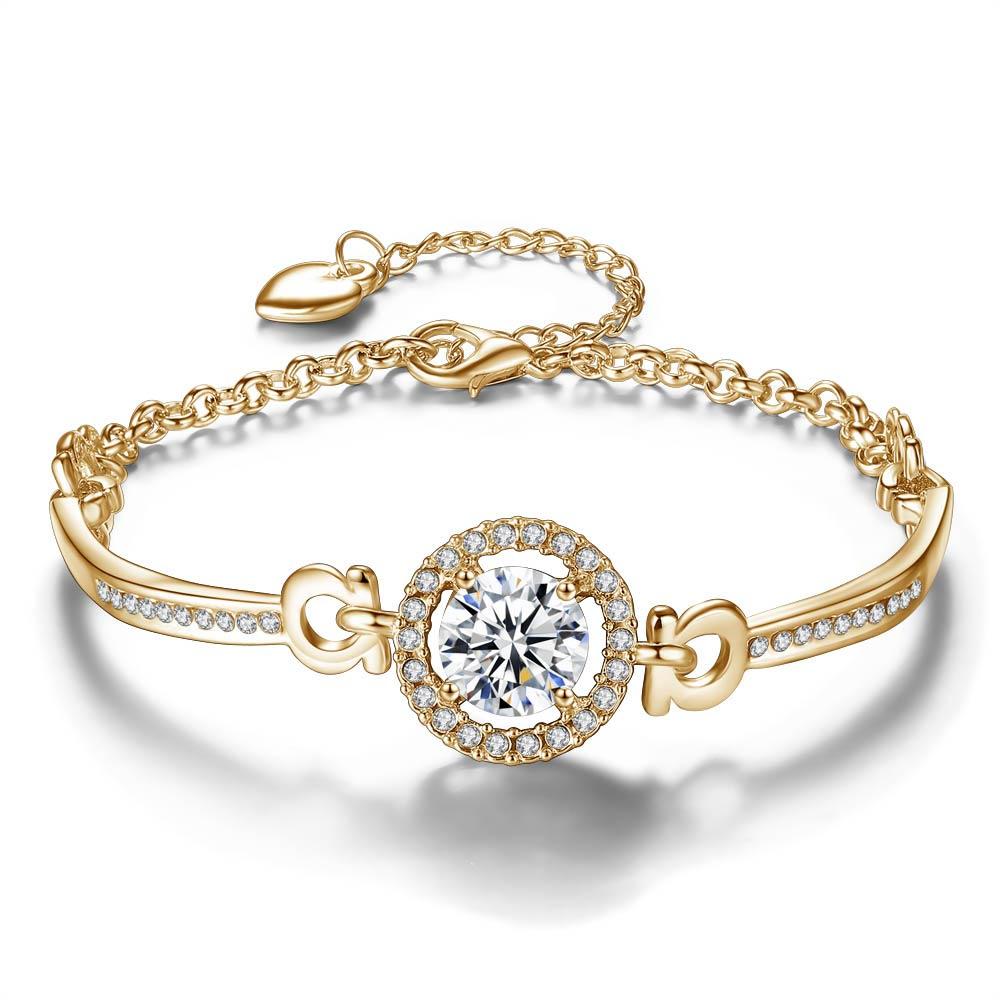 Fashion Armband Accessoires Selling Zirkoon Armband Vrouwelijke Kristal Bruiloft Sieraden 2020