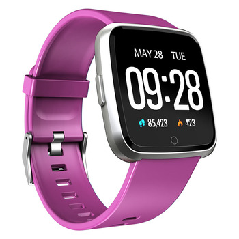 Fitness touch new blood pressure smart watch fitness tracker bracelet iphone apple