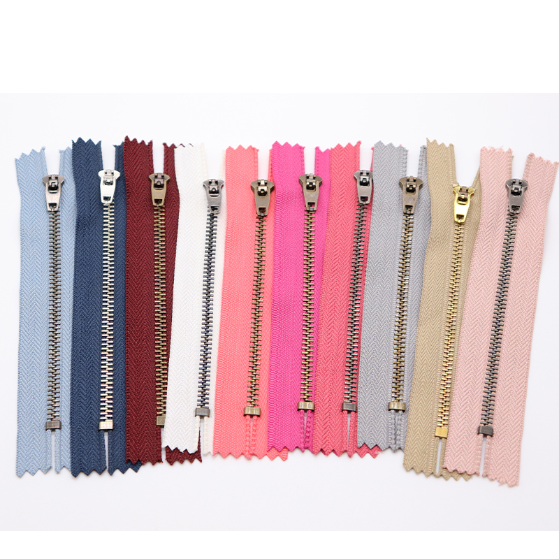 #3#4#5 YG zipper metal zipper jeans