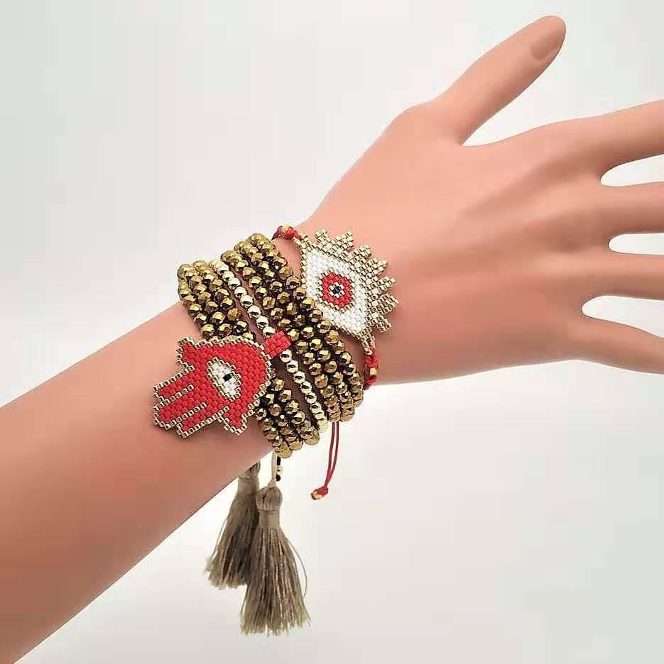 CM-Xinyee hot sell bracelet Miyuki seed bead rope fashion charm bracelet ,adjustable miyuki bracelets фото