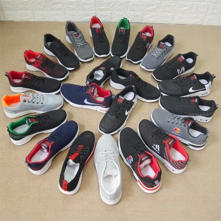 Venta caliente al por mayor a granel Zapatos Deportivos zapatos de tipo mixto de segunda mano para los zapatos de los hombres de