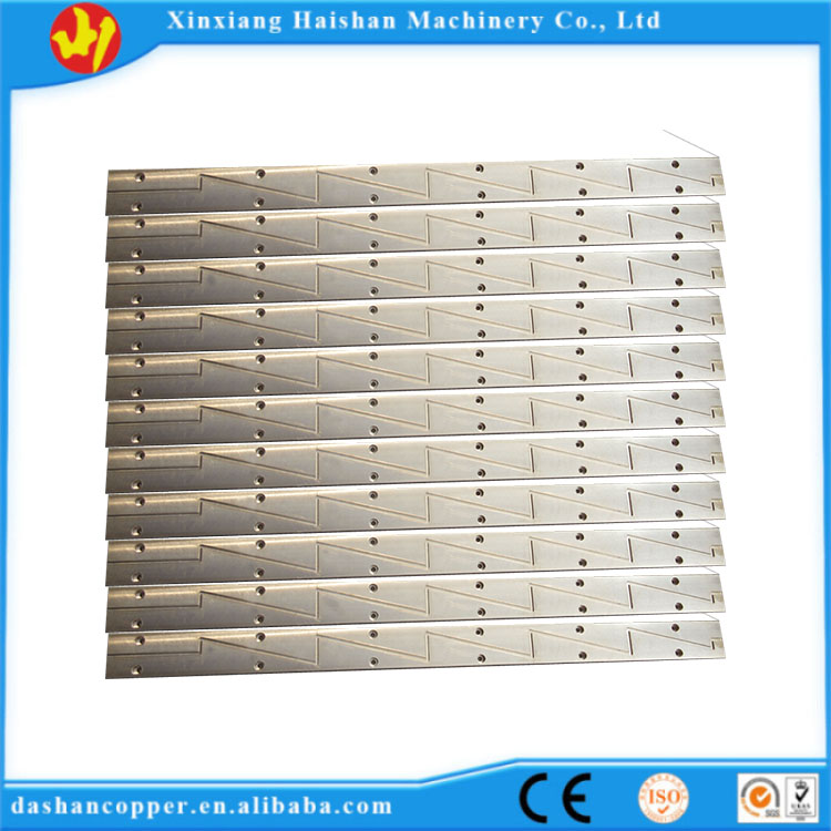 Henan high density C95400 wear-resistant material guide plate for mining part