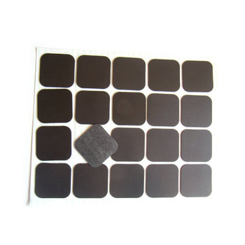 factory directly wholesale Flexible rubber 3M adhesive magnet magnet sheet precut