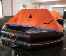 SOLAS CCS โยน over Inflatable Life raft Liferaft