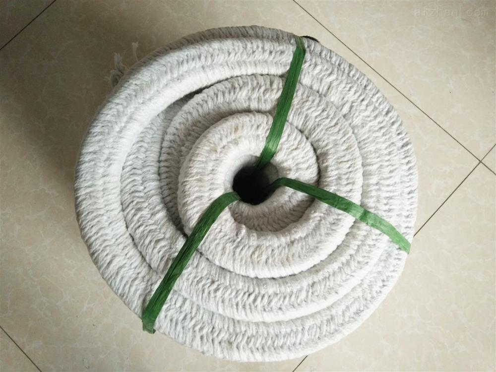 Heat Resistant Flexible Ceramic Fiber Twisted Rope for High Temperature