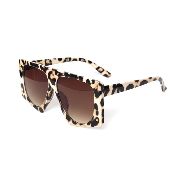 Kenbo 2020 Fashion Oversized Designer Leopard Women Sunglasses Cheap Wholesale Ladies Sun glasses