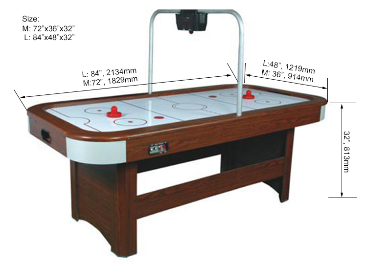 SZX Wooden indoor air hockey table 6ft home use air hockey game table 7ft for sale