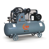 860 Rotation speed 3kw 4hp 7bar Piston Electric Portable Air Compressor for industry HW4007