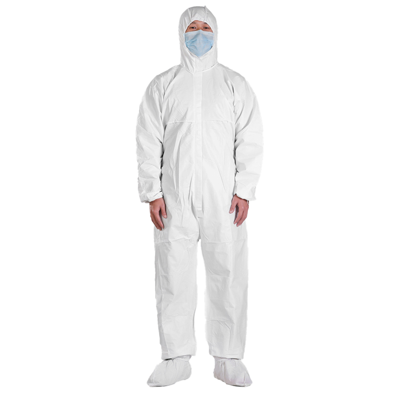 Sterile Isolation Wear PPE Disposable Coverall Suit Hooded safety gown - KingCare | KingCare.net