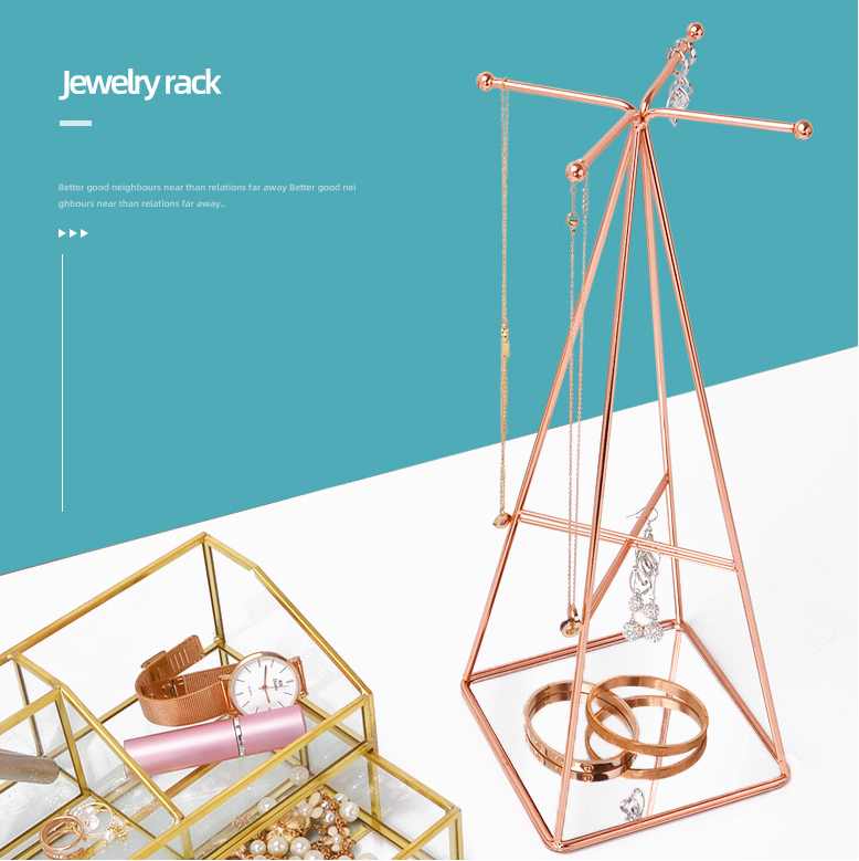 Jewelry Stand Commercial Hanging Bracelet Rose Gold Metal Necklace Organizer Earring Ring Holder Rack Jewelry Display Stand Buy Jewelry Display Stand Jewelry Stand Earrings Display Stand Jewelry Product On Alibaba Com