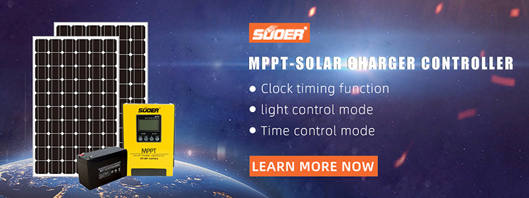 Suoer 12v 24v 48v  60a mppt solar charge controller