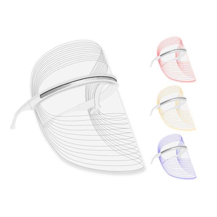 Factory Wholesale 3 Colors LED Light Therapy Face Mask Skin Rejuvenation LED mask Facial Skin Care