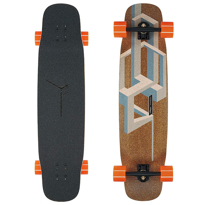 4 Wheels Cheap Good Skateboards Maple And Bamboo Dancing Longboard