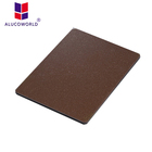 Alucoworld construction materials cladding aluminum wall cladding aluminum composite wall panel/acm colorful composite board