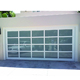 Topwindow 12x7 Aluminium Sectional Commercial Exterior Glass Automatic Slide Garage Door