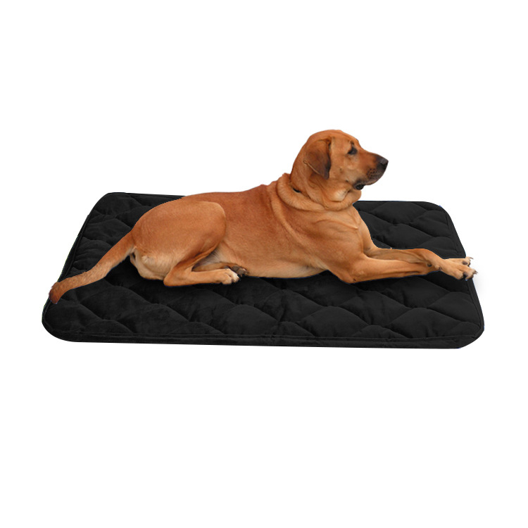 China Supply Amazon Hot Sale Dog Mat Pet Quilted <strong>Edging</strong> Car Dog Pet Cushion