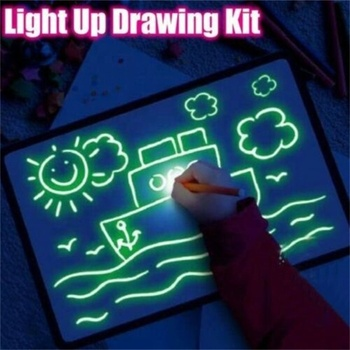 New Design LED Light Drawing Board For Kids