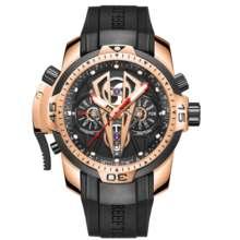 Мужские автоматические механические часы Reef Tiger/RT, спортивные наручные часы цвета розового золота, RGA3591(Китай)