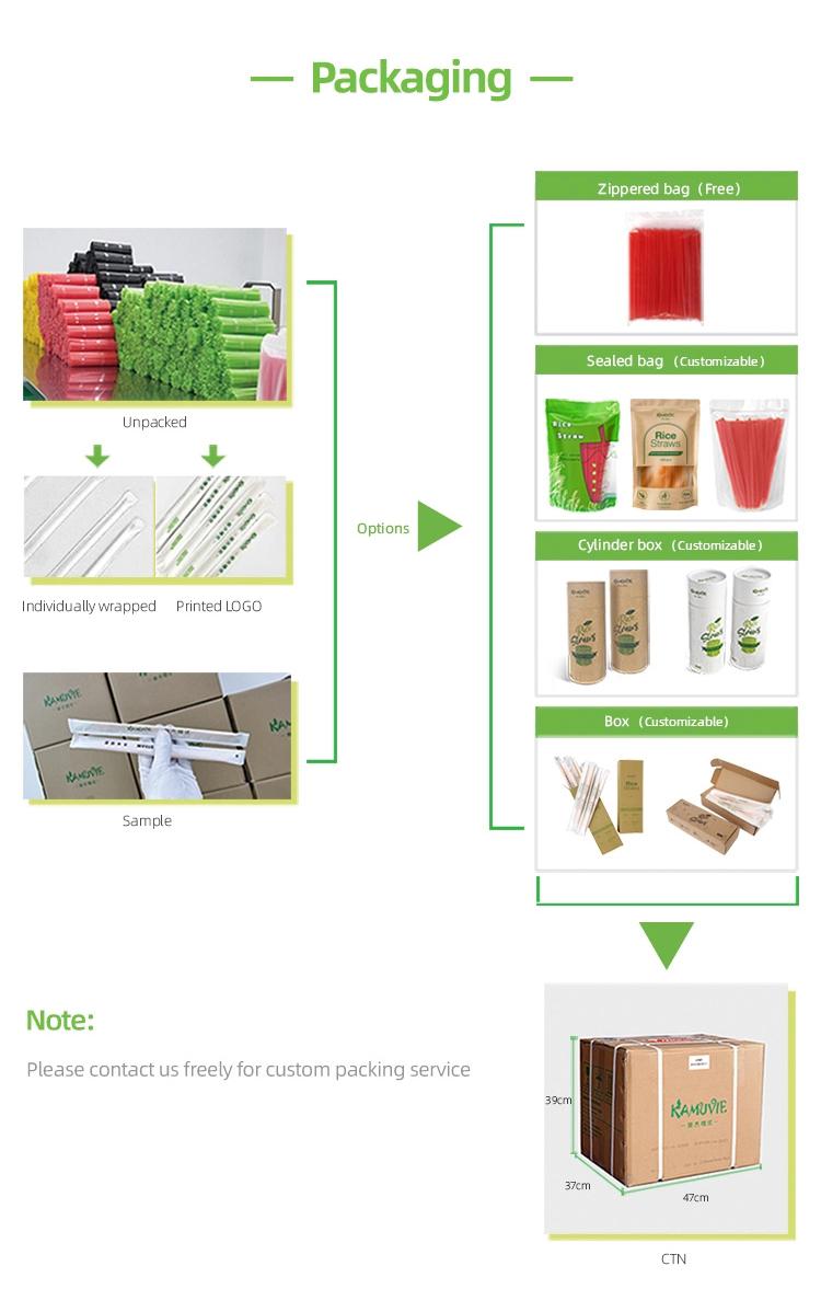 Sain et Sans Pollution Jetable Paille/Paille De Maïs