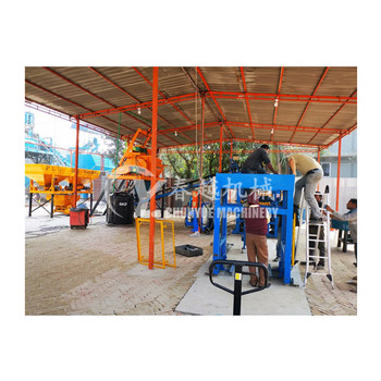 QT Series Hydraulic hollow cement block making machine price