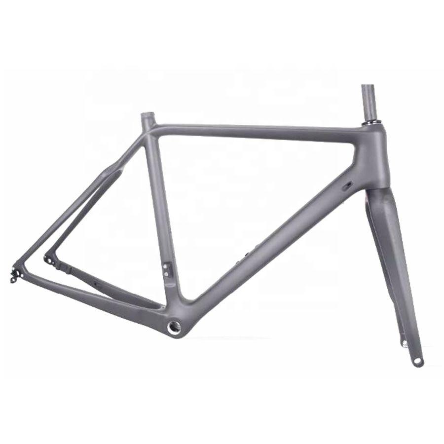 Alibaba.com / CX535 700C Toray Carbon Cyclocross Frame 58CM Cyclocross Bike Frame Disc Brake CX Carbon Cross Frame