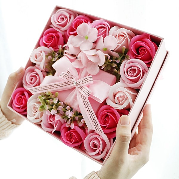 Eco Friendly Buy Gift Box,Soap Roses Gift Box Small Boxes For Gifts Package Carton Box