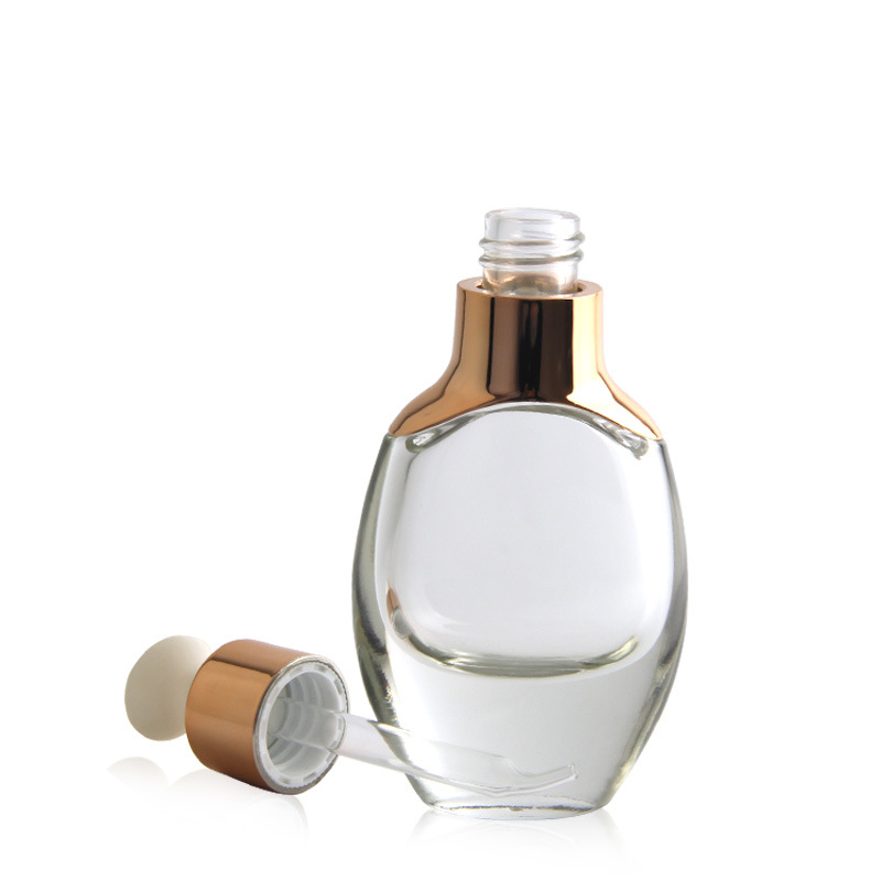 30 мл 50 мл черный матовый косметическое стекло капельница бутылка