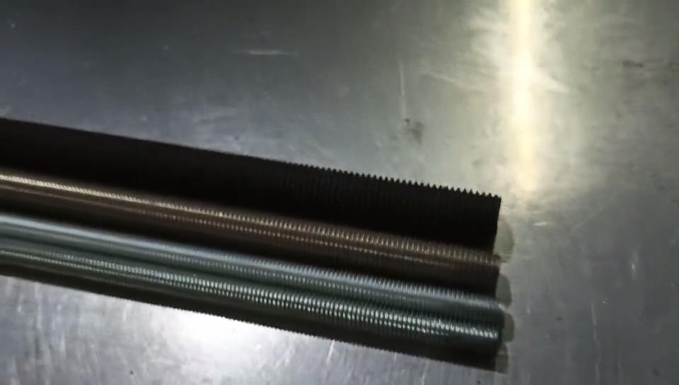 304 316 נירוסטה DIN975 /DIN976 מלא מושחל מוטות בר מהיר אטב