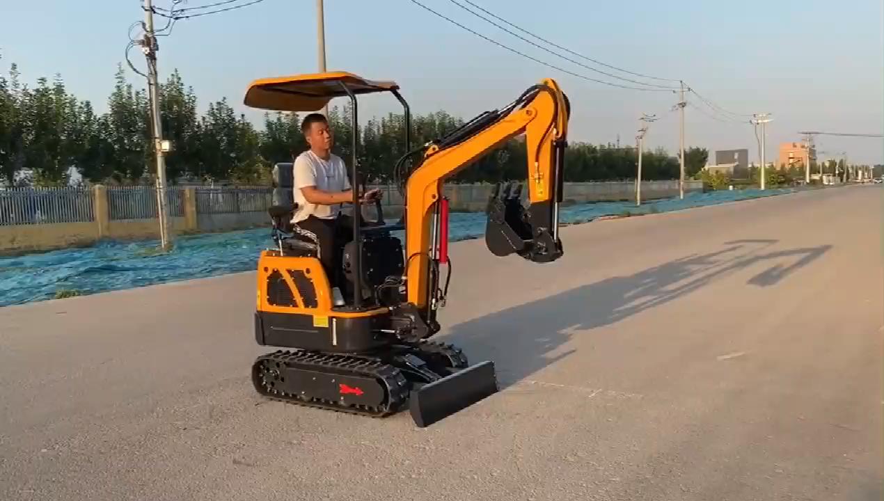 Cheap Price!!! 2020 mini excavator new design digger crawler excavator 1 ton 2 ton for sale