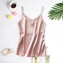 Сексуальное Женское ночное белье, Мини Ночная рубашка, юбка на бретельках, бесплатная доставка, Летний стиль, пижама из натурального шелка, ...(Китай)