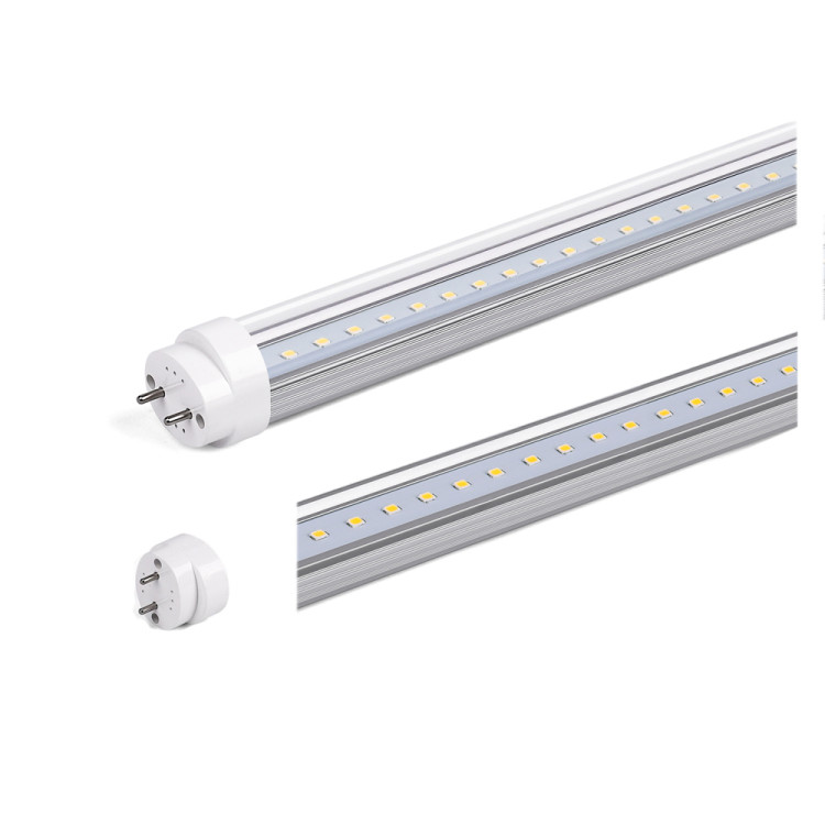 Best price 18w 4ft CRI>95 T8 LED Light Tube 5000K Daylight with ETL DLC TUV CE Listed 160lm/w milky clear cover led light