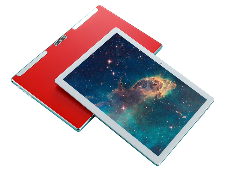 New Design 10.1 inches Glass Cover Tablet PC Phone 4G with 4GB Ram 64GB Rom Octa Core Long time work 5+13M Camera