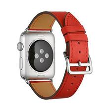 Кожаный ремешок для Apple watch, 5, 44 мм, 40 мм, iWatch, 38 мм, 42 мм, браслет из натуральной кожи, Apple watch, 4, 3, 2, 1, 44(Китай)
