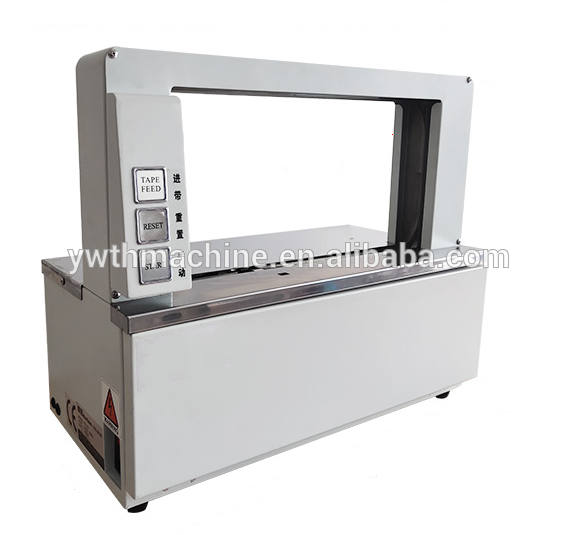 Small Table Top Paper Box Strapping Bundling Machine