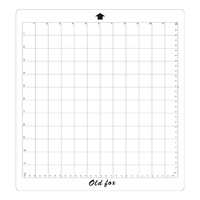 Replacement Cutting Mat Transparent Adhesive Mat with Measuring Grid 12 * 12 Inch for Silhouette Cameo Plotter Machine