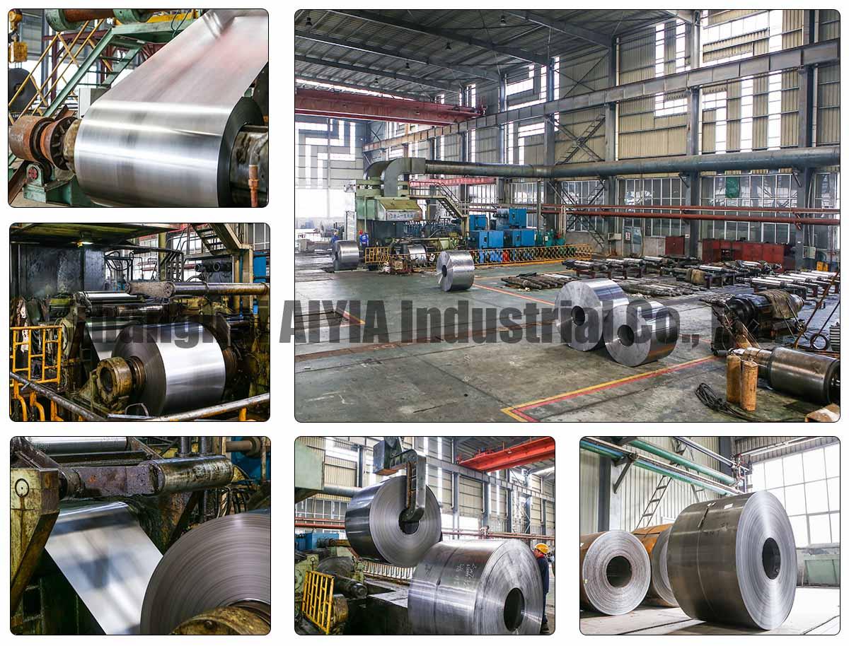 AIYIA SPCC 1018,1020, 1045 полный жесткий отожженный холоднокатаный (CR) Углеродистая сталь катушка/лист/пластина/полоса низкая цена